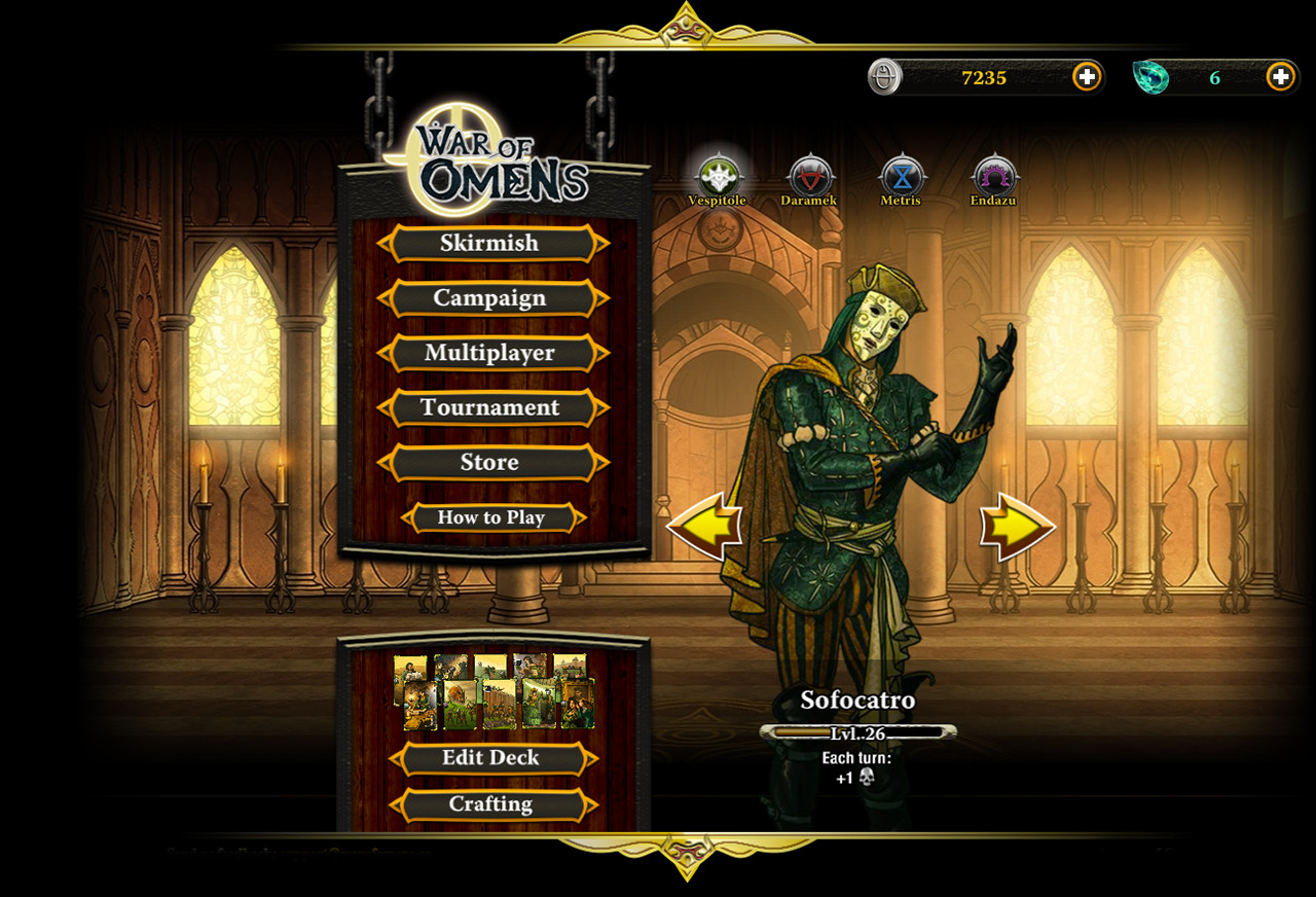 War of Omens Card Game on Steam