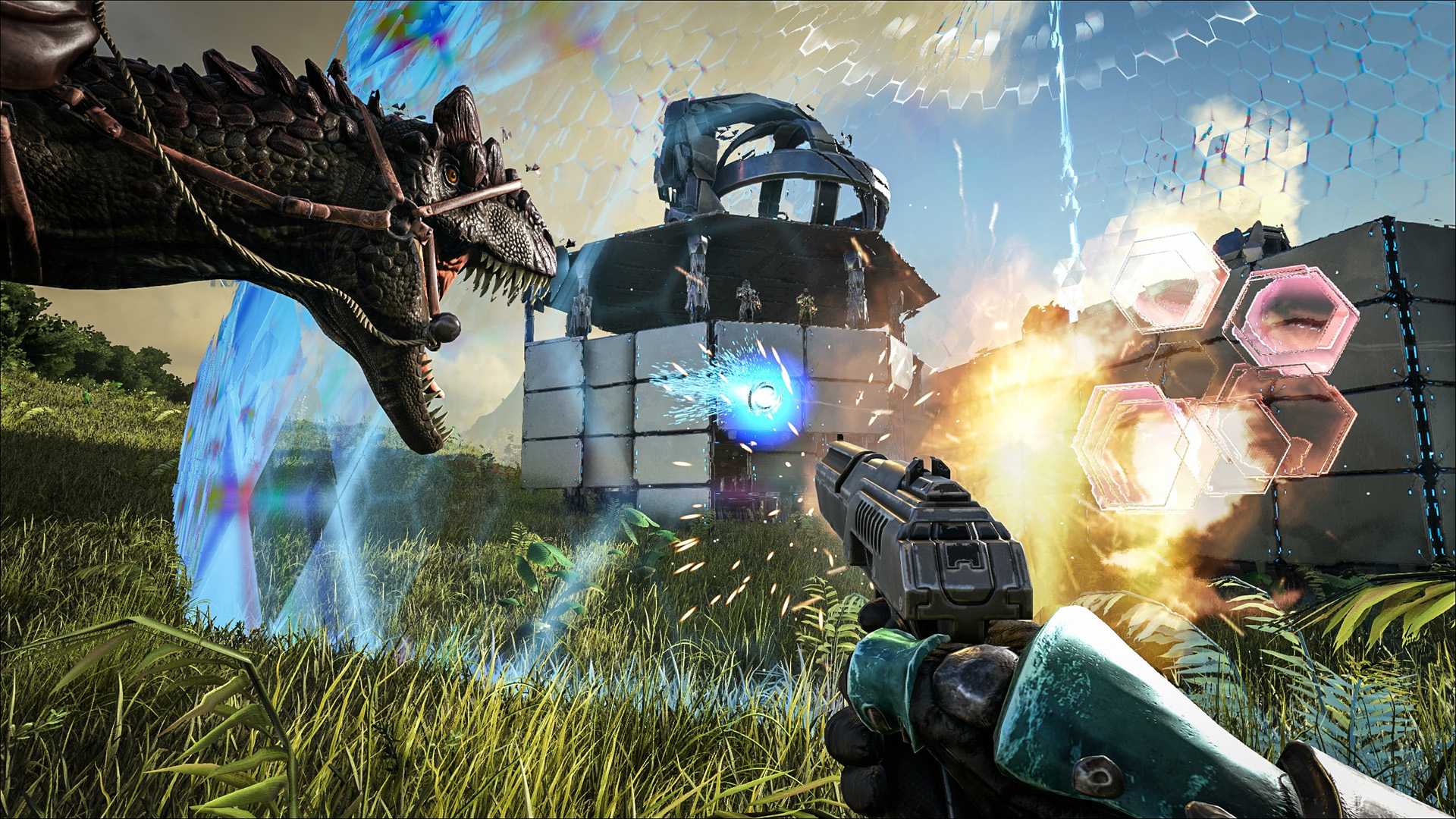 Скриншот ARK Survival Evolved v297.64 + 8 DLC скачать торрент бесплатно