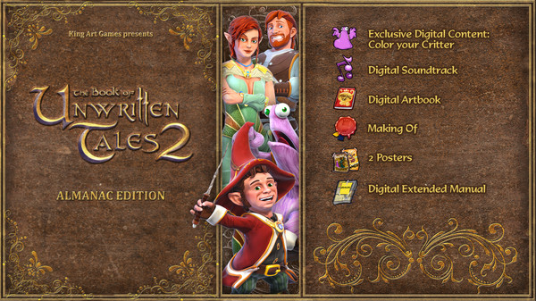 The Book of Unwritten Tales 2 Almanac Edition Extras (DLC)