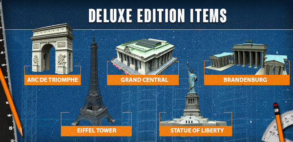 Cities: Skylines - Deluxe Edition Upgrade Pack (DLC)