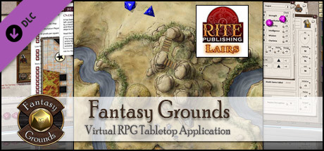 Fantasy Grounds - Rite Publishing Fantastic Maps - Lairs Pack