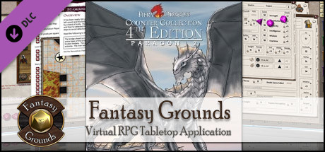 Fantasy Grounds - Fiery Dragon Counter Collection: Paragon 2