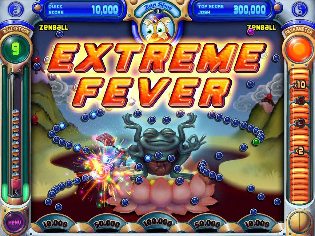 Pop cap game video review peggle nights capsule computers