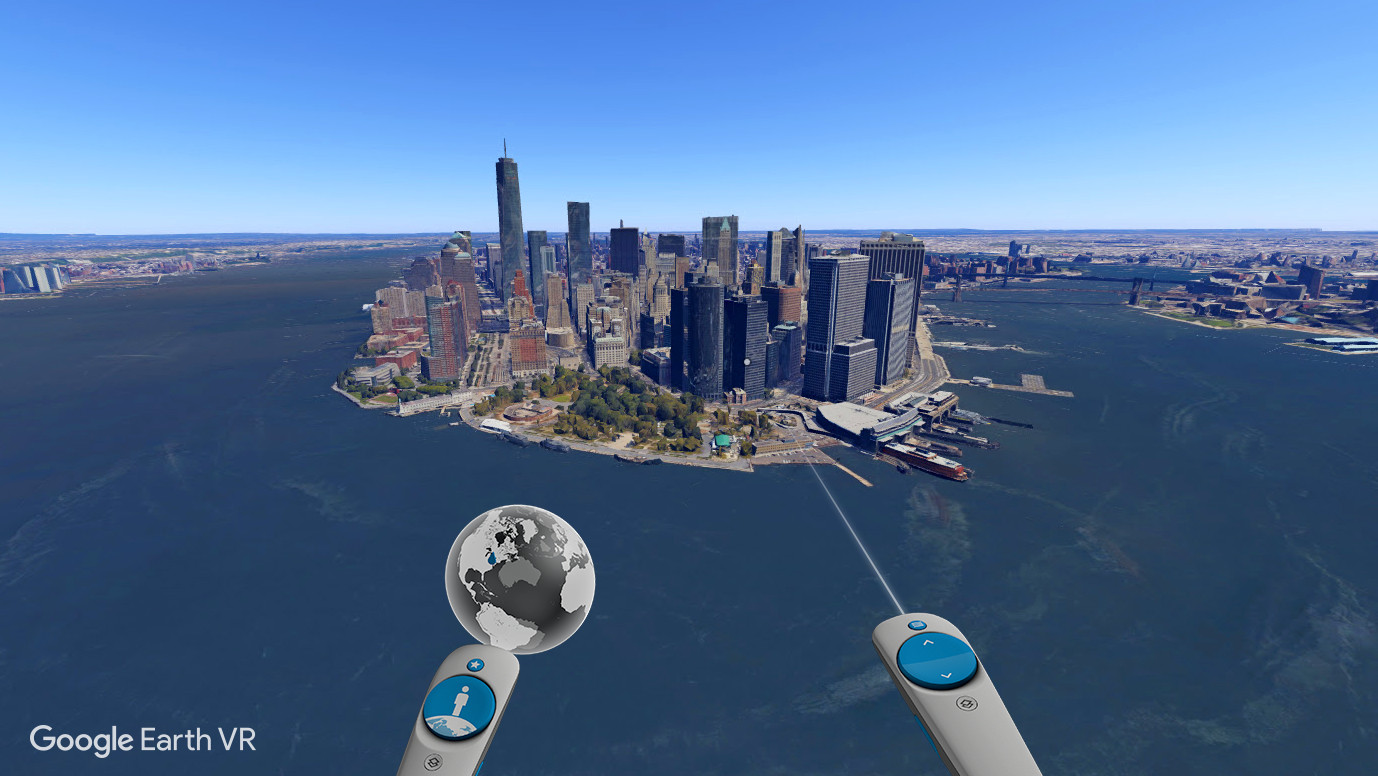 google earth vr on steam