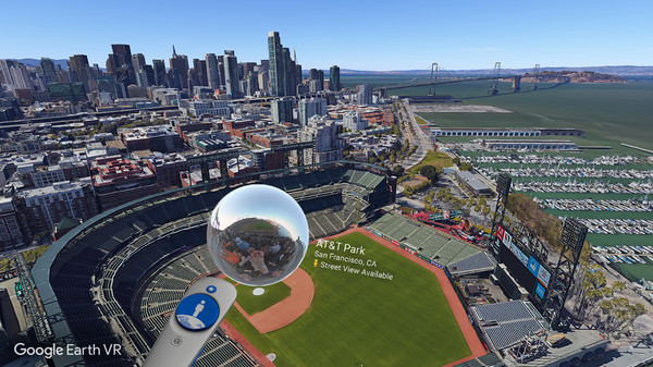 Google Earth VR Screenshot