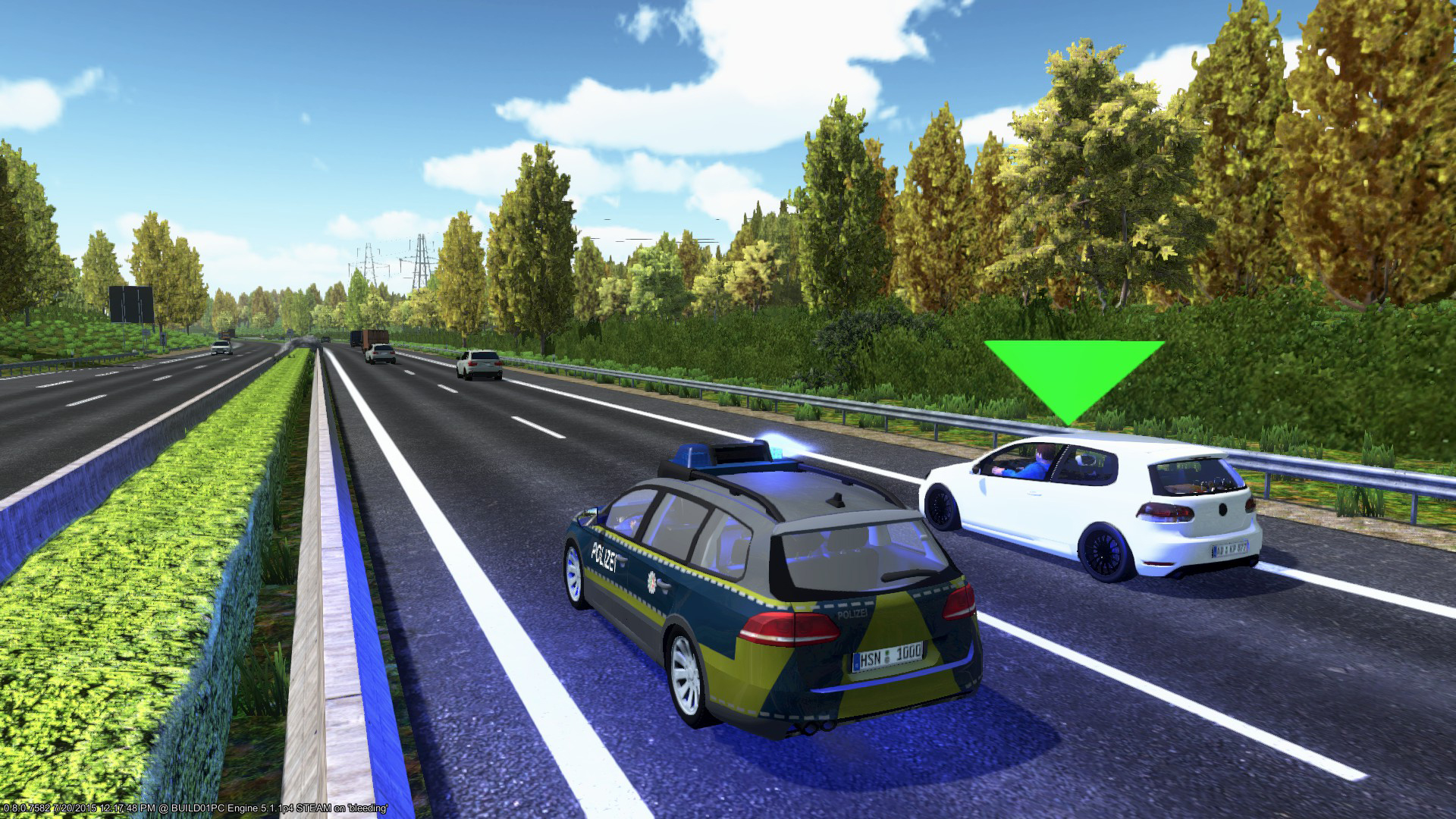 Autobahn Police Simulator No Steam