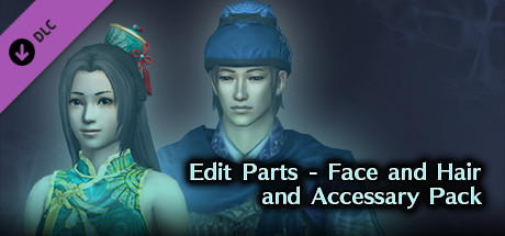 DW8E: Edit Parts - Face, Hair & Accessary Pack