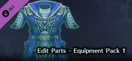 DW8E: Edit Parts - Equipment Pack 1