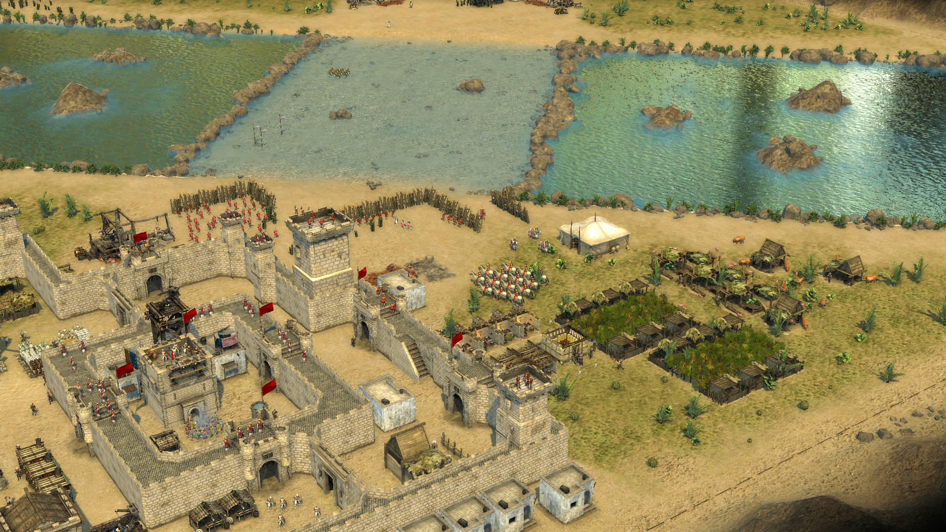 stronghold crusader 2 download free game