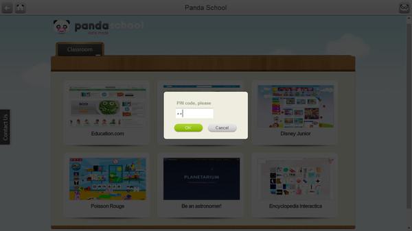 Скриншот из Panda School Browser