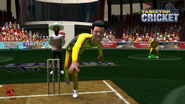 TableTop Cricket 7