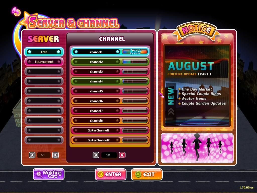 download client audition ayodance