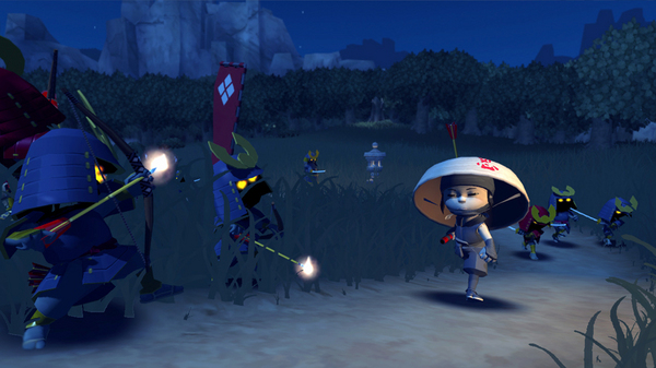 Screenshot of Mini Ninjas