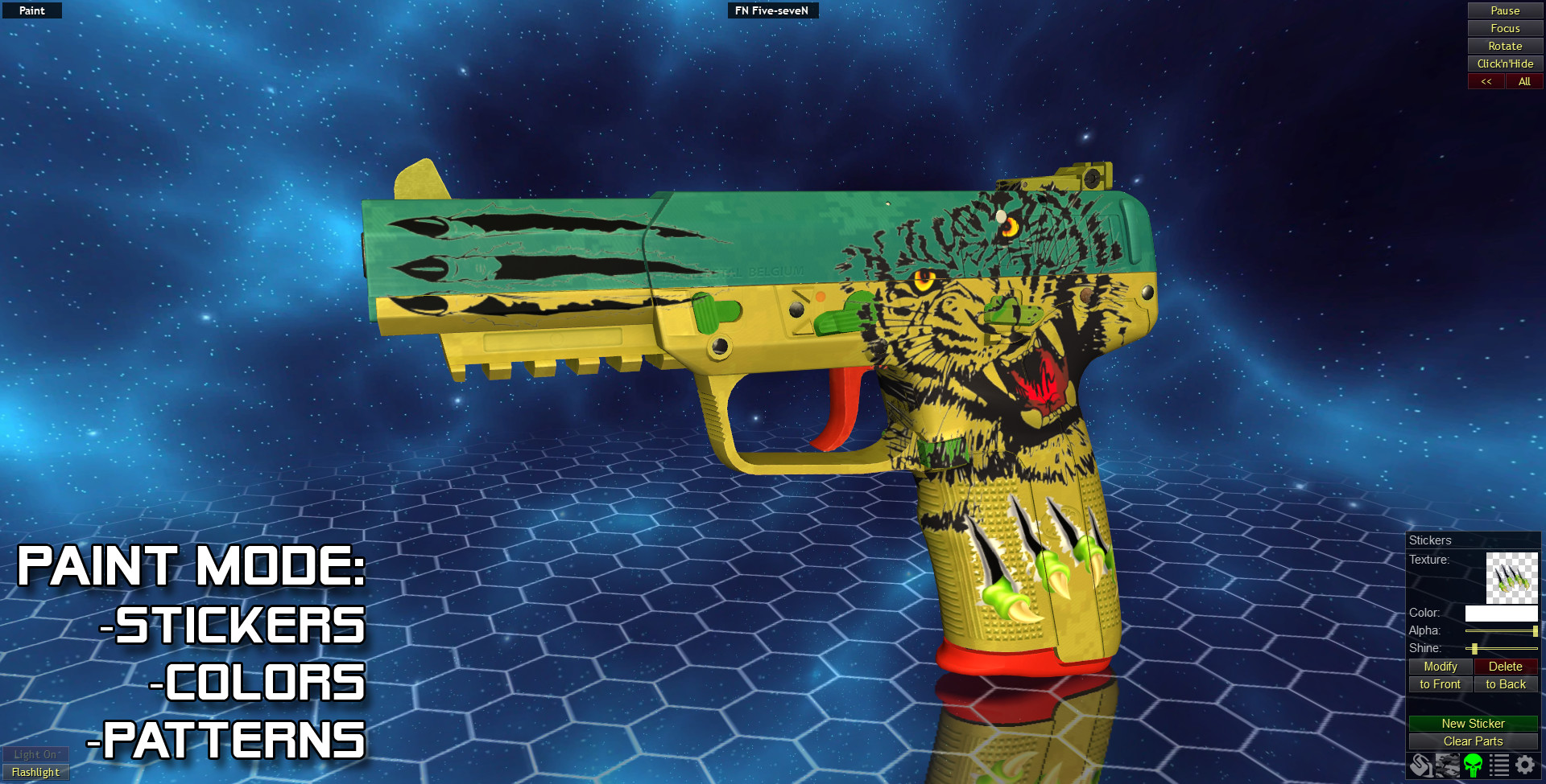 World of Guns: Gun Disassembly - Texture Pack 1: Stickers & Patterns 2015 pc game Img-3