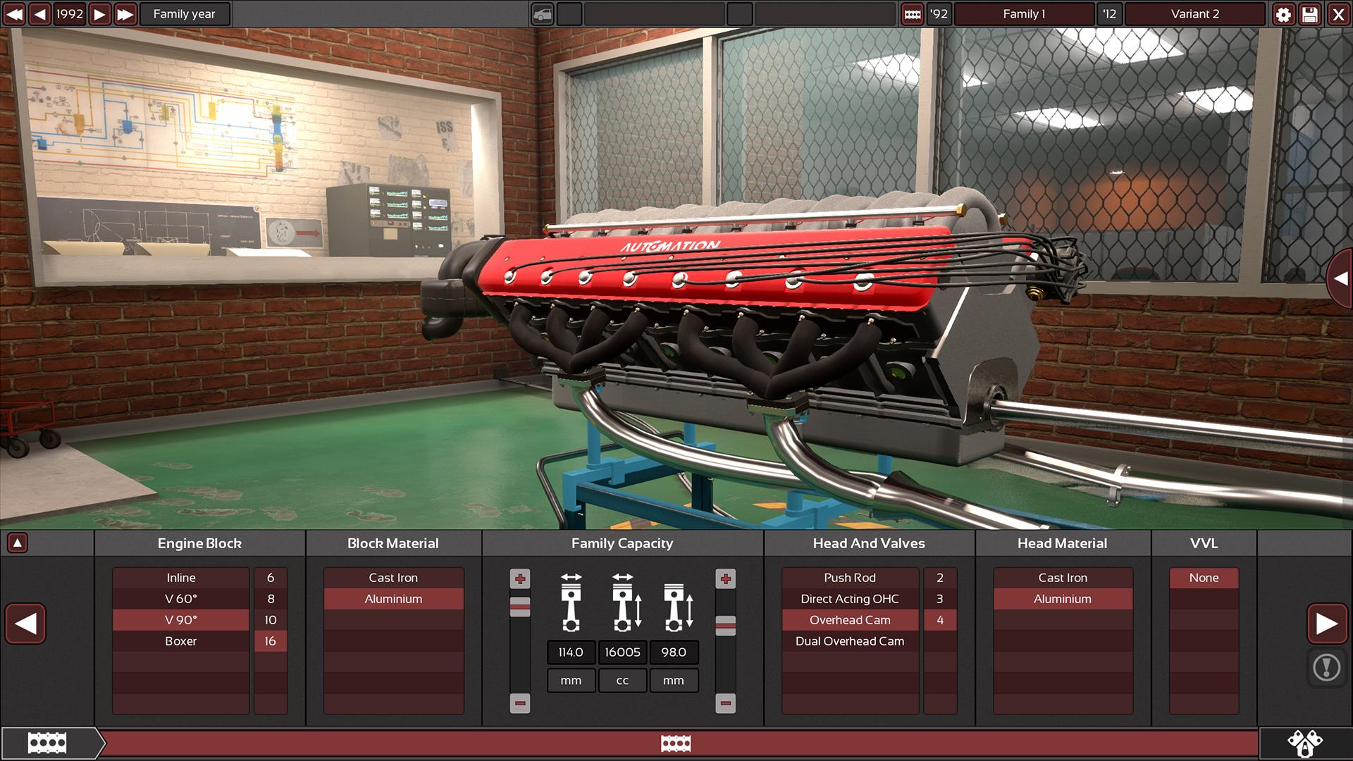 Supporter Pack - V16 Engines