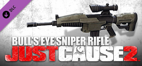 Just Cause 2: Bulls Eye Assault Rifle