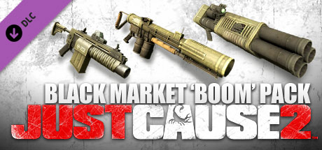View Just Cause 2: Black Market Boom Pack DLC on IsThereAnyDeal