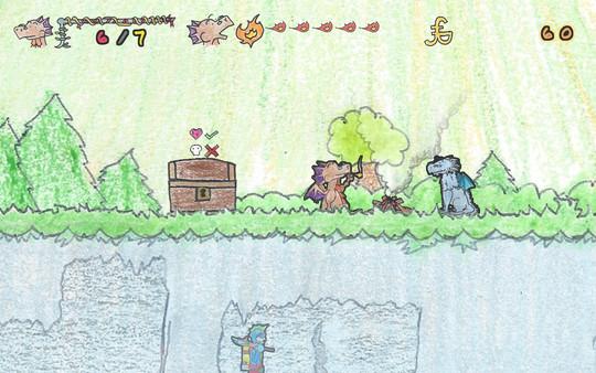 скриншот DRAGON: A Game About a Dragon 5