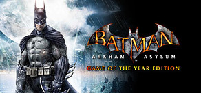 Batman: Arkham Asylum GOTY Edition cover art