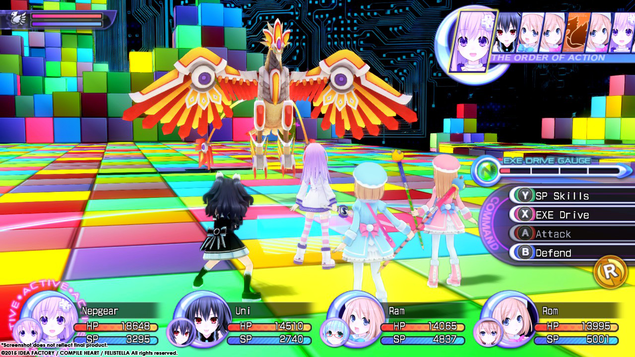 Hyperdimension Neptunia Re;Birth2: Sisters Generation Screenshot 2