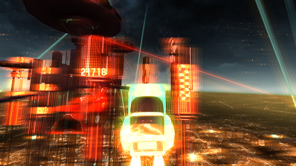 Screenshot of Riff Racer