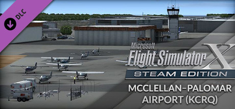 FSX: Steam Edition - McClellan-Palomar Airport (KCRQ) Add-On
