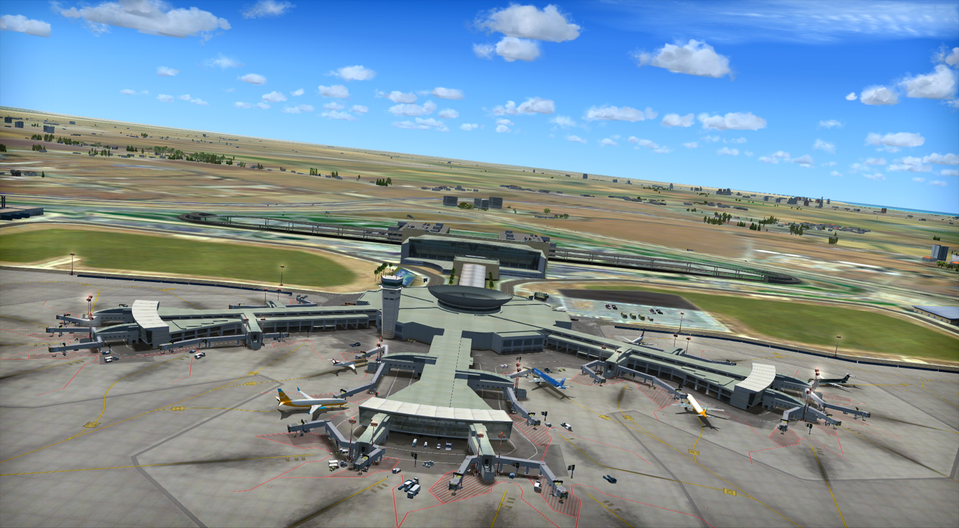 FSX: Steam Edition - Ben Gurion Airport Add-On