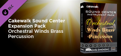 Cakewalk Expansion Pack - Orchestral Winds Brass Percussion