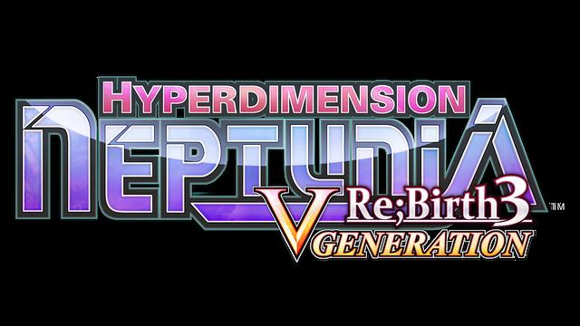 Hyperdimension Neptunia Re;Birth3 V Generation logo