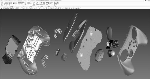 Steam Controller :: Steam Controller CAD Release