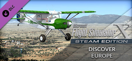 FSX: Steam Edition - Discover Europe Add-On