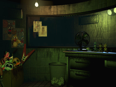 Screenshot of Five Nights at Freddy's 3