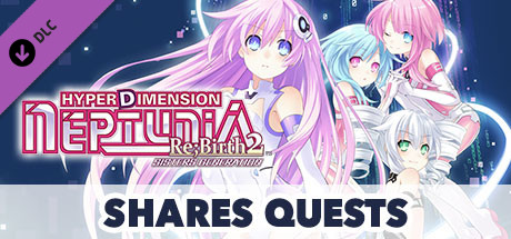 Купить Hyperdimension Neptunia Re;Birth2 Shares Quests (DLC)