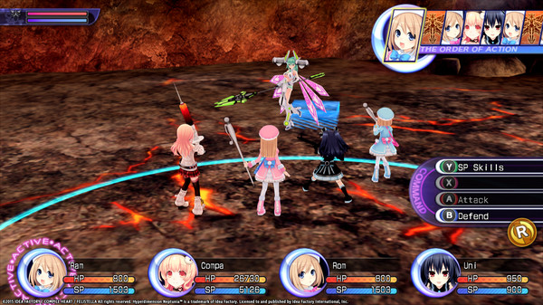 Hyperdimension Neptunia Re;Birth2 Shares Quests (DLC)