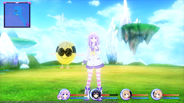 Hyperdimension Neptunia Re;Birth2 Giant Island (DLC)