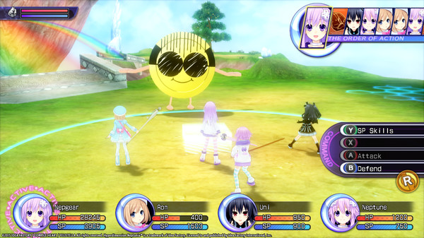 Hyperdimension Neptunia Re;Birth2 Giant Island / 巨人アイランド / / 巨人島 (DLC)