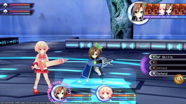 Hyperdimension Neptunia Re;Birth2 Babysitter's Club (DLC)