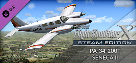 FSX: Steam Edition - Piper PA-34-200T Seneca II Add-On
