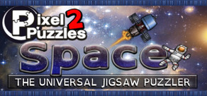 Pixel Puzzles 2: Space cover art