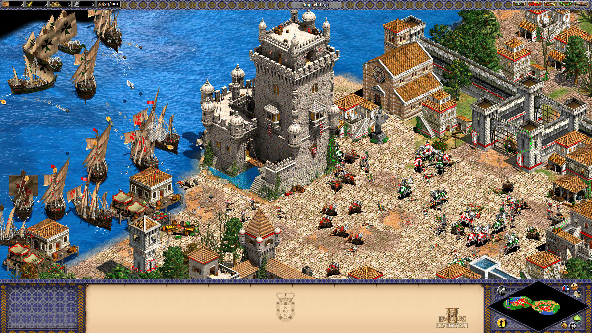 Port Report Age of Empires II HD