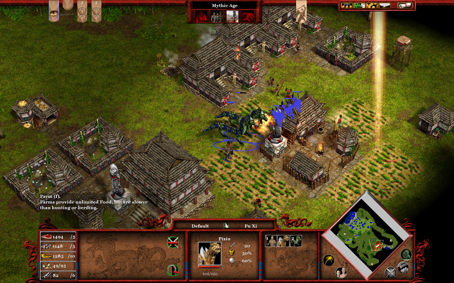 Age of Mythology EX: Tale of the Dragon Screenshot 3