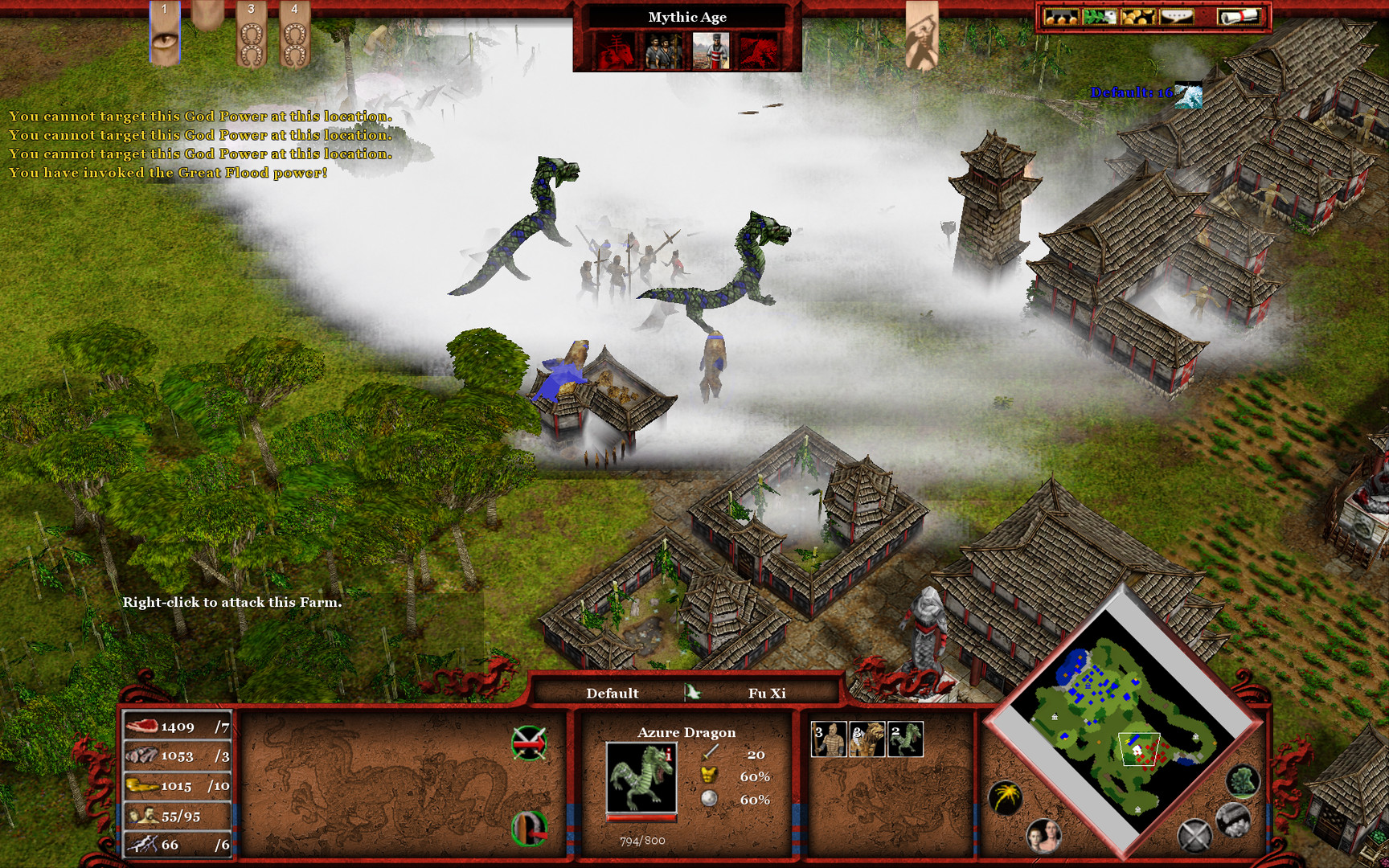 Age of Mythology EX: Tale of the Dragon Screenshot 2