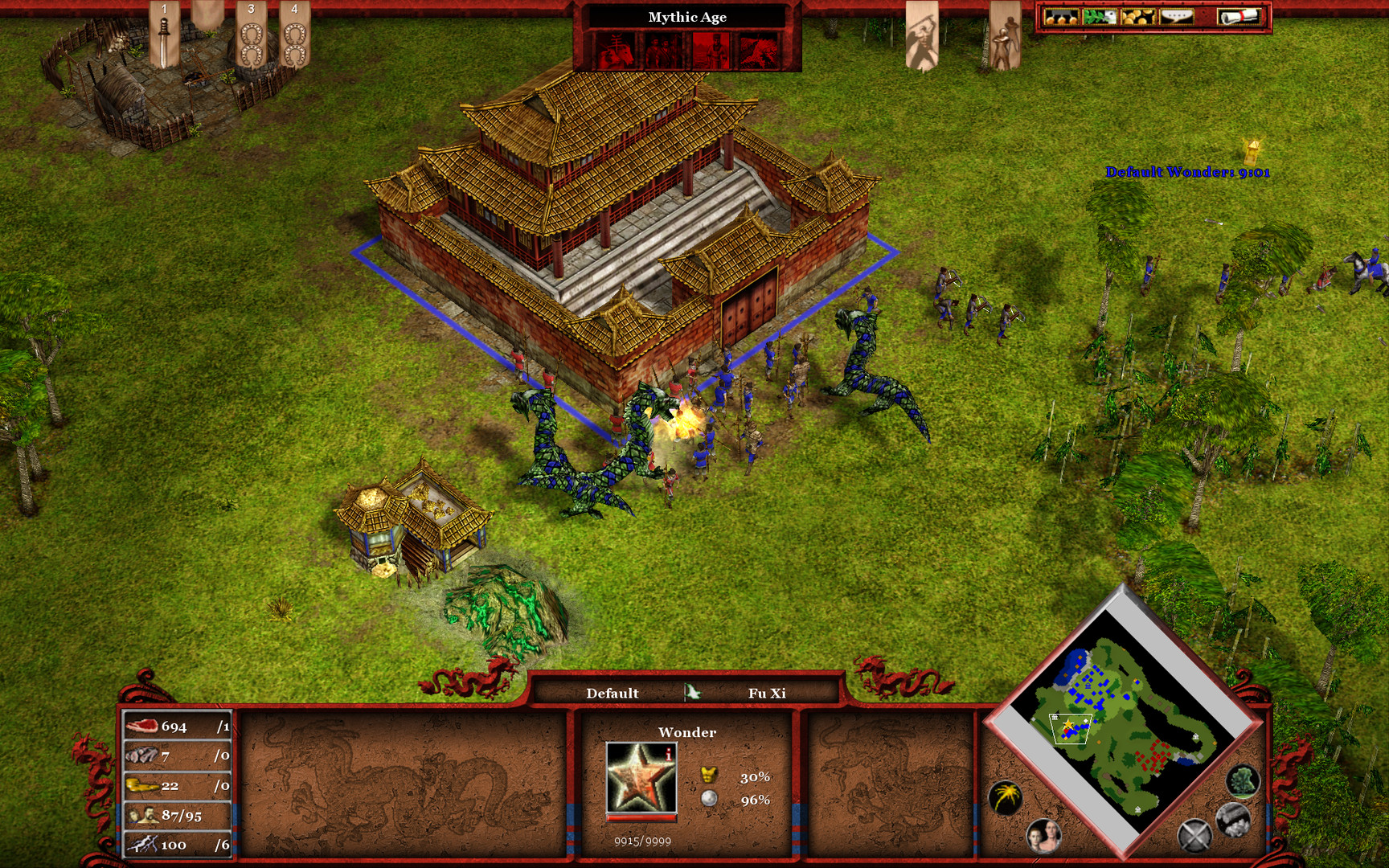 Age of Mythology EX: Tale of the Dragon Screenshot 1