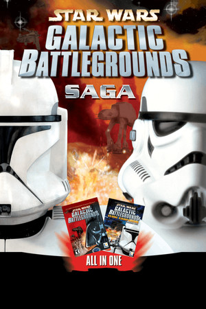 STAR WARS Galactic Battlegrounds Saga poster image on Steam Backlog