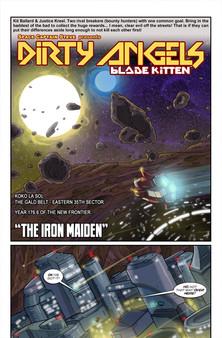 Скриншот из Blade Kitten: Comic Pack - Dirty Angels