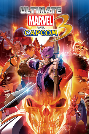 ULTIMATE MARVEL VS. CAPCOM 3 poster image on Steam Backlog