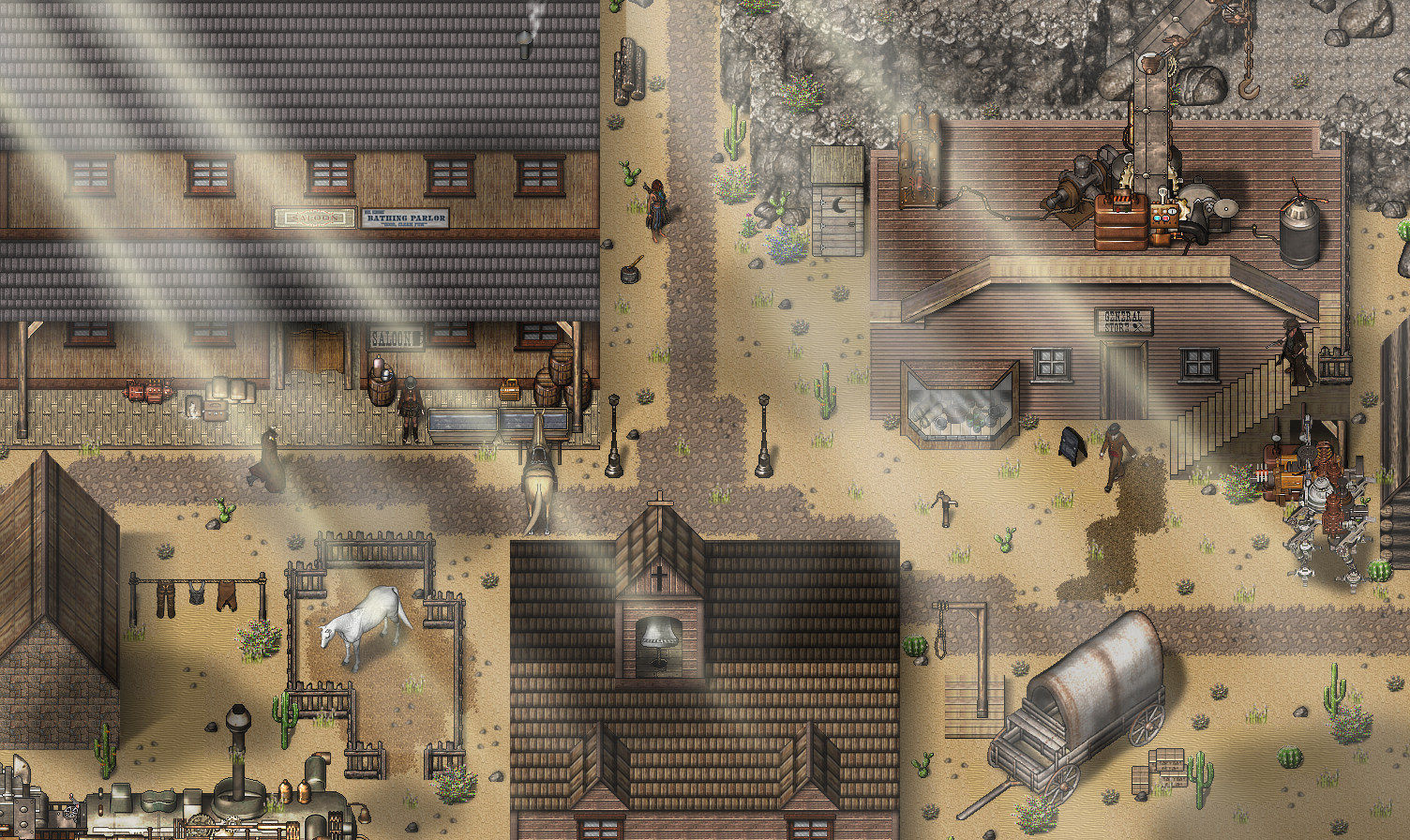 RPG Maker VX Ace - Wild Steam Resource Pack Steam Discovery