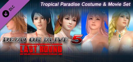 Tropical Paradise Costume & Movie Set