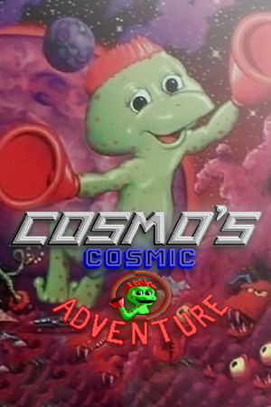 Cosmo's Cosmic Adventure poster image on Steam Backlog
