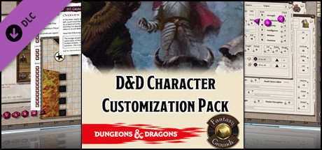 Fantasy Grounds - D&D Character Customization Pack